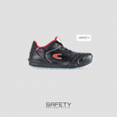 Pantof de protectie cu bombeu aluminiu si lamela, art.A998 S1P